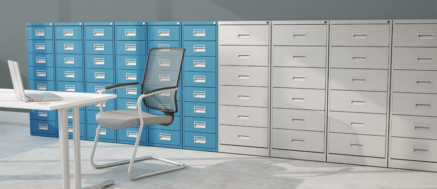 Media filing & card index cabinets #officefurnituregibraltar